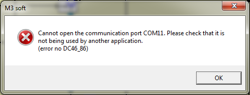 Communication problems with your computer ? no DC46_86